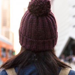 Basic winter hot cap