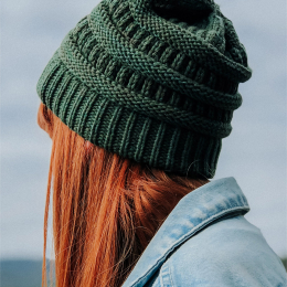 Beautiful cap for woman